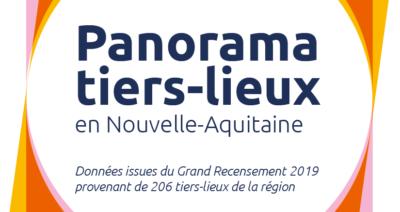 Panorama 2019 des tiers-lieux en Nouvelle-Aquitaine